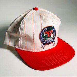 Vintage Starter Florida Gators Pin Stripe Hat